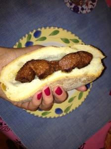 sucuk sandwich